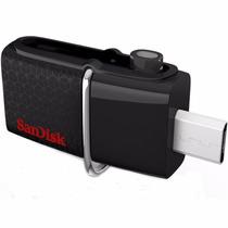 Pen Drive 16gb Ultra Dual Drive Sandisk Usb 3.0 Micro Usb