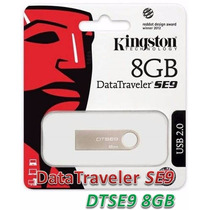 Pendrive Kingston 8gb Dt Se9 Lacrado 100% Original.
