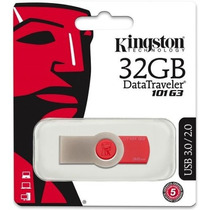 Pendrive Kingston 32gb Dt101 G3 - Original