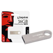 Pen Drive Kingston Dtse9h/16gbz Data Traveler Se9 16gb Prata