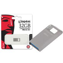 Pen Drive Usb 3.0 Kingston Dtmc3/32gb Datatraveler Micro 3.