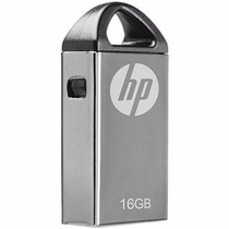 Pendrive Flash Memory Usb Hp 16gb V221w Mini Prata