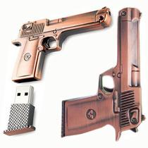 Pen Drive De Arma Revolver