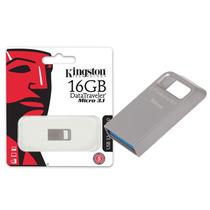 Pen Drive Usb 3.0 Kingston Dtmc3/16gb Datatraveler Micro 3.