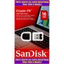 Micro Pen Drive Sandisk 16gb Ultra Fit Usb 3.0 Frete Grátis!