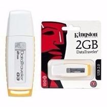 Pen Drive Kingston 2gb Original Usb 2.0 G3 Lacrado