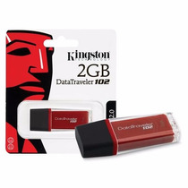 Pen Drive Kingston Dt102 2gb Frete Super Economico