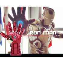 Pen Drive 8 Giga Hand Iron Man Mão Homem De Ferro