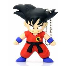 Pen Drive 8gb Usb 2.0 Dragon Ball Goku Novidade Dbz Estoque!