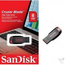 Pen Drive Sandisk 8gb - 100% Original - Novo Lacrado
