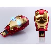 Pendrive Homem De Ferro 3 Iron Man 8gb Edição Limitada 2013