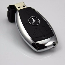 Pen Drive Inox Car Capacidade Usb 8gb 16gb 32gb Frete Grátis