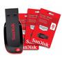 Pen Drive Sandisk 8gb Cruzer Blade Original