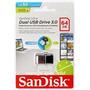 Pen Drive 64gb Sandisk Ultra Dual Drive Usb 3.0 Promoção !!!