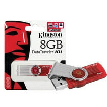 Pen Drive 8gb Kingston Original Lacrado - Dt101 G2/8gb