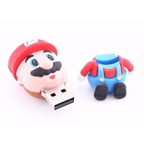 Pen Drive Personalizado Super Mario Bross, 4gb De Memória