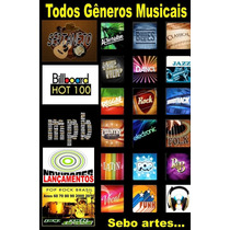 Pen Drive Musical 08gb (2000 Mil Músicas)