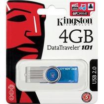 Pen Drive 4gb Kingston Dt101 G2 Pendrive 4 Gb Original