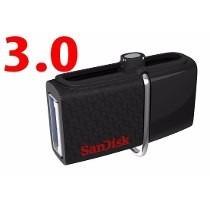 Pen Drive Sandisk Ultra Dual Drive Usb 2.0 Micro-usb - 32gb