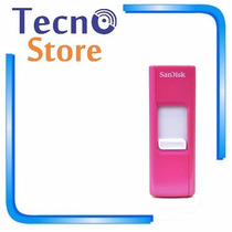 Pen Drive Sandisk Cruzer Z36 8gb Rosa Pink Retrátil Lacrado!