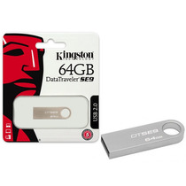 Pen Drive Usb 2.0 Kingston Dtse9h/64gb Datatraveler Se9 64g