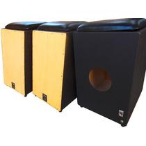 Cajón Elétrico/eletro-acústico Bump, Com Assento, Xlr E P10
