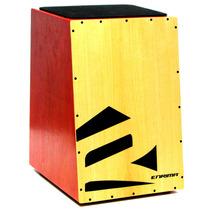 Cajón Com Melhor Preço Elétro Acústico Percussão Tipo Fsa