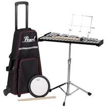 Oferta ! Pearl Pk-900c Kit Estudo Metalofone Pad De Estudo