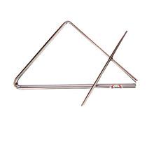 Triângulo Médio De Aço Cromado Contemporanea 219c 30 Cm Com