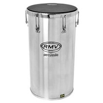 Percussão Tantan Rmv Em Aluminio 14x16 Com Chave Para Afinar