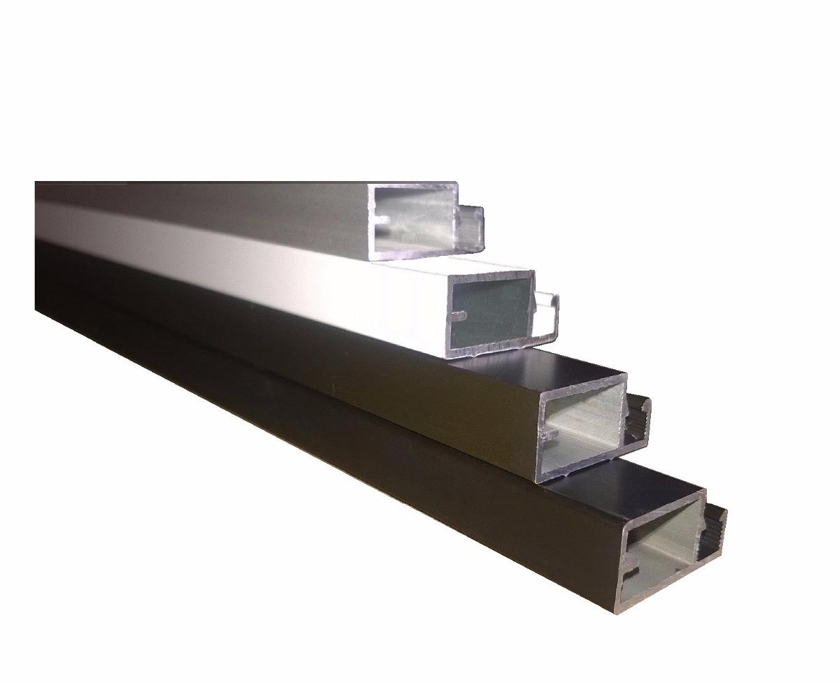 #2F2820 Perfil De Aluminio P/ Tela Mosquiteiro  Barra 1 Mt Cor Cinza R$ 8 90  1326 Preço De Janelas De Aluminio Em Juiz De Fora