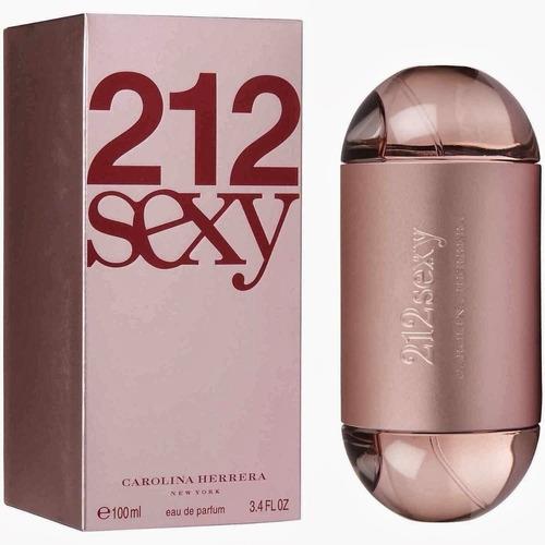 Perfume 212 Sexy Feminino 100ml Carolina Herrera Original.
