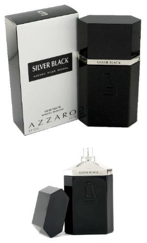 Perfume Azzaro Silver Black Masculino 100ml Original