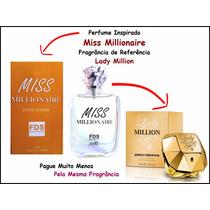 Perfume Importado Miss Million Fragrância Lady Million 50ml