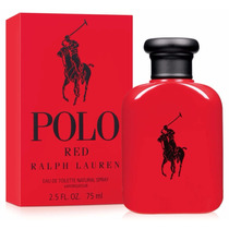 Ralph Lauren Polo Red 75ml Masculino | Original E Lacrado