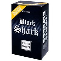 Perfume Black Shark Xs For Men 100ml Intense Perfume Lacrado