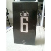 Perfume Masculino Club 6 Eudora 95ml ( Grupo O Boticário)