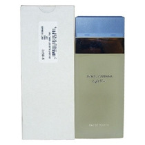 Perfume Feminino Light Blue 100ml Edt Tester 100% Original.