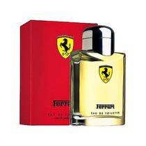 Perfume Ferrari Red 125ml -original E Lacrado Envio Imediato