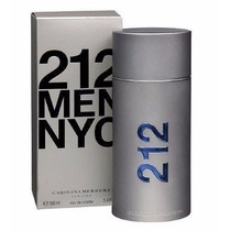 Perfume 212 Men Nyc Carolina Herrera 100ml Original