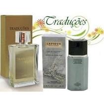 Traduções Gold Nº 31 Masculino (fragrância Lapidus) 100 Ml