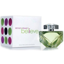 Perfume Feminino Britney Spears Believe 100ml Edp Original