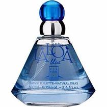 Laloa Blue Edt 100ml Via Paris Feminino