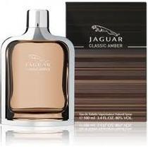 Perfume Jaguar Classic Amber For Men 100ml Edt - Novo