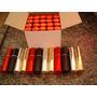 60 Porta Perfume Spray Modelo Batom 10ml - Preto