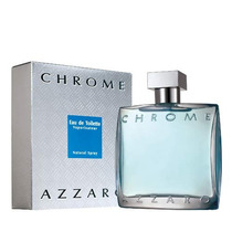 Perfume Azzaro Chrome 200 Ml - Gigante - Original E Lacrado!