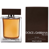 Perfume D & G The One 100ml Masculino | Lacrado E Original