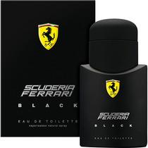 Perfume Ferrari Black Masculino 125 Ml - Original