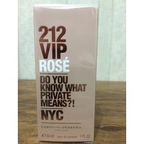 Perfume 212 Vip Rosé 30ml Original Rose - Carolina Herrera