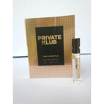 Amostra Karl Lagerfeld Private Clube Eau De Parfum 2ml Spray